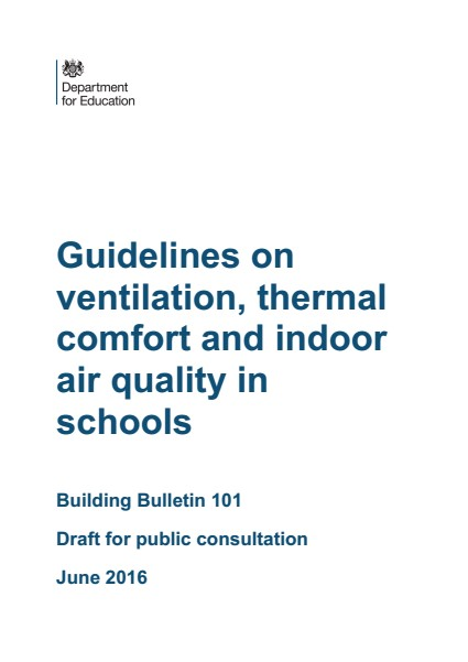BB101 Ventilation in Schools