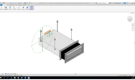 Viewing E-Stack & NVHR Systems as Revit BIM Components