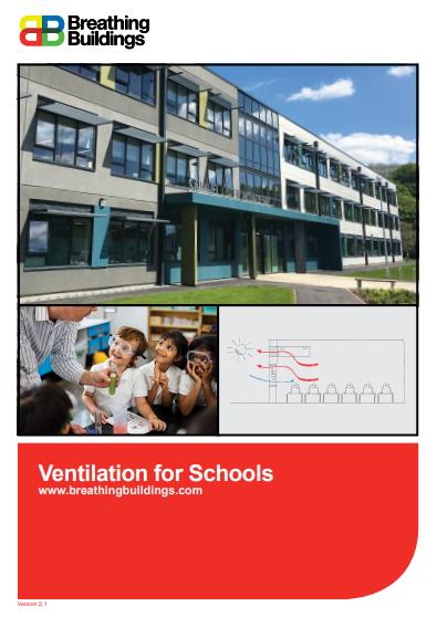 Breathing Buildings Schools brochure